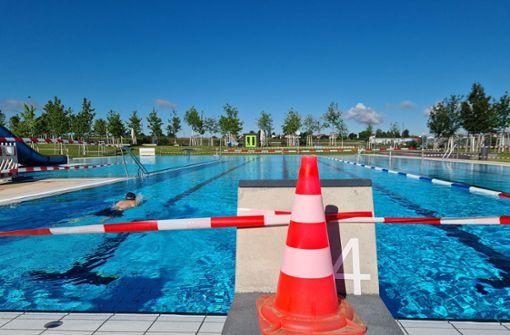 Schwimmer fühlen sich wie Geburtstagskinder