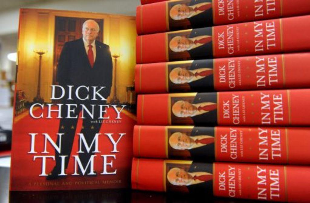 Der ehemalige amerikanische Vizepräsident, Dick Cheney, hat seine Biografie vorgelegt. Foto: EPA