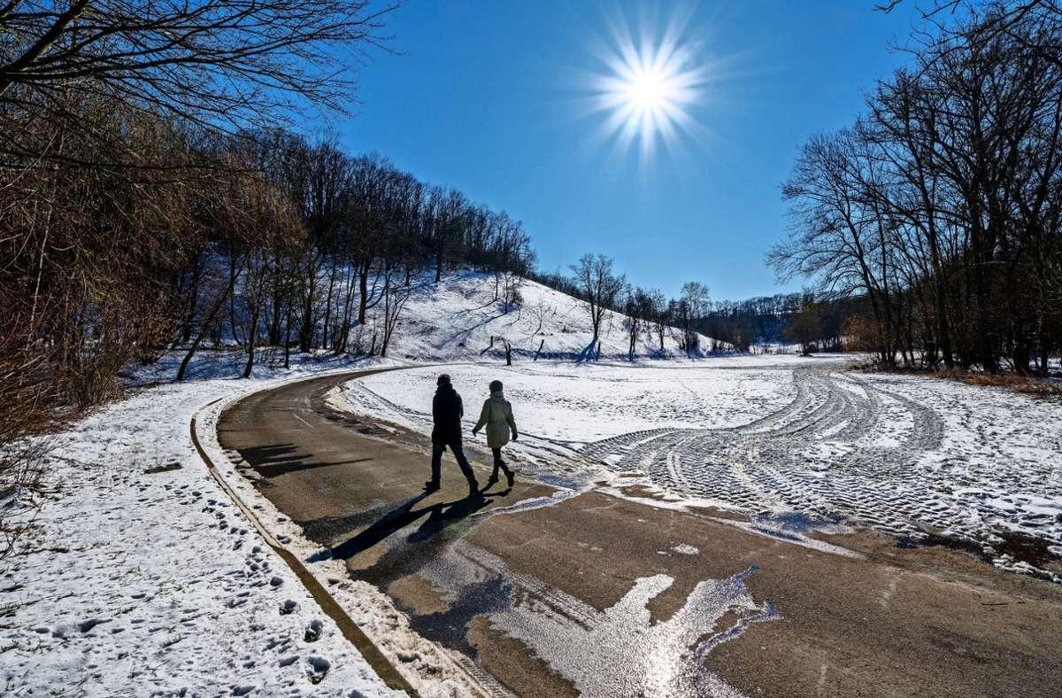 Wunderschönes Fleckchen Erde: der Glemsmühlenweg zwischen Markgröningen und Unterriexingen Foto: factum/Andreas Weise