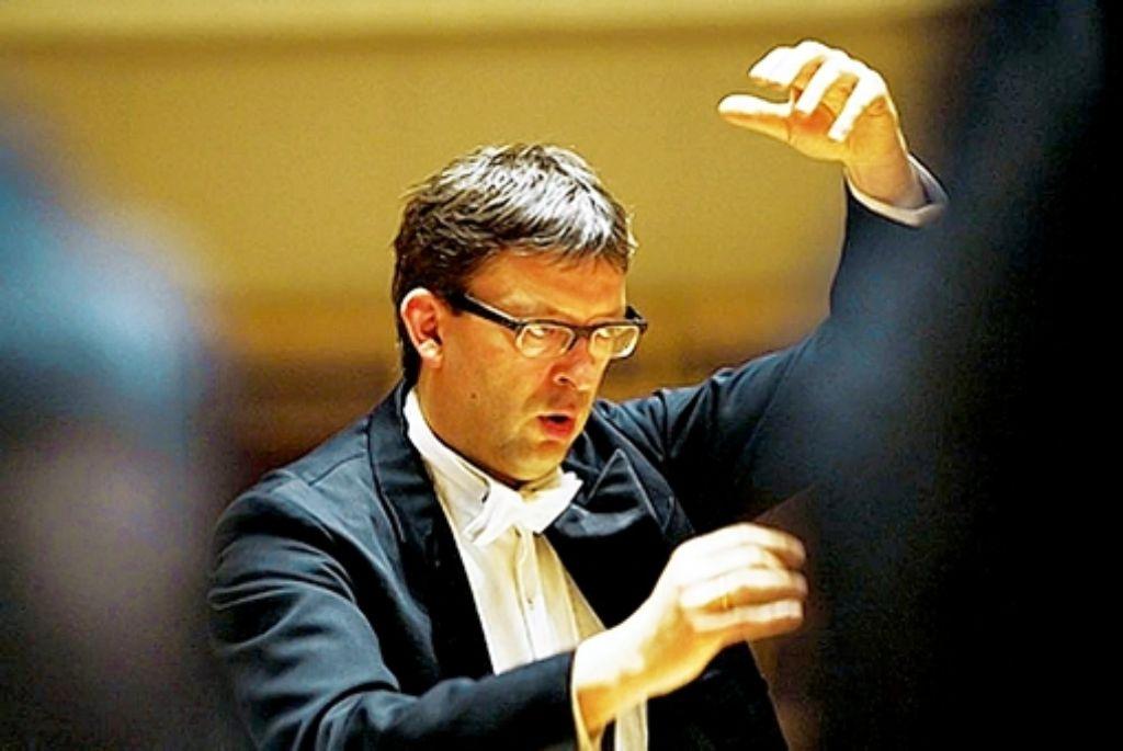 Hans-Christoph Rademann wird Rillings Nachfolger. Foto: StZ