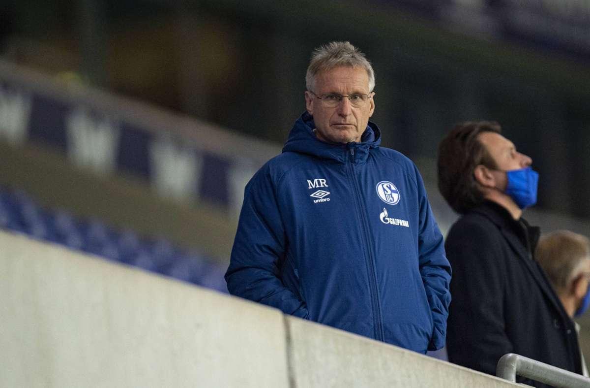 Michael Reschke verlässt den FC Schalke 04 mit sofortiger Wirkung. Foto: imago images/Kirchner-Media
