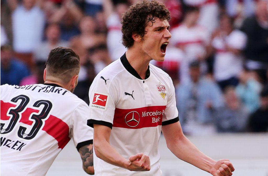 Benjamin Pavard spielt eine starke Saison beim VfB Stuttgart und hat gute Chancen auf eine WM-Teilnahme mit Frankreich. Foto: Baumann
