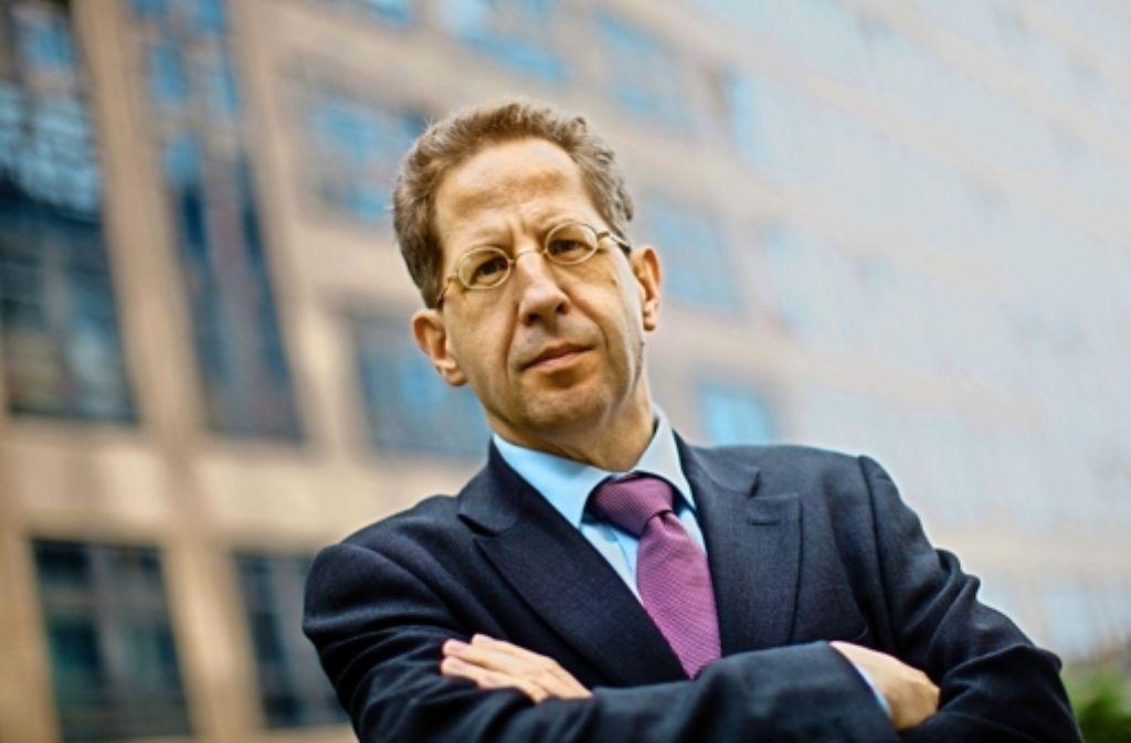 Verfassungsschutz-Chef Hans-Georg Maaßen  gilt als Mann, der  Härte zeigen kann. Foto: dpa