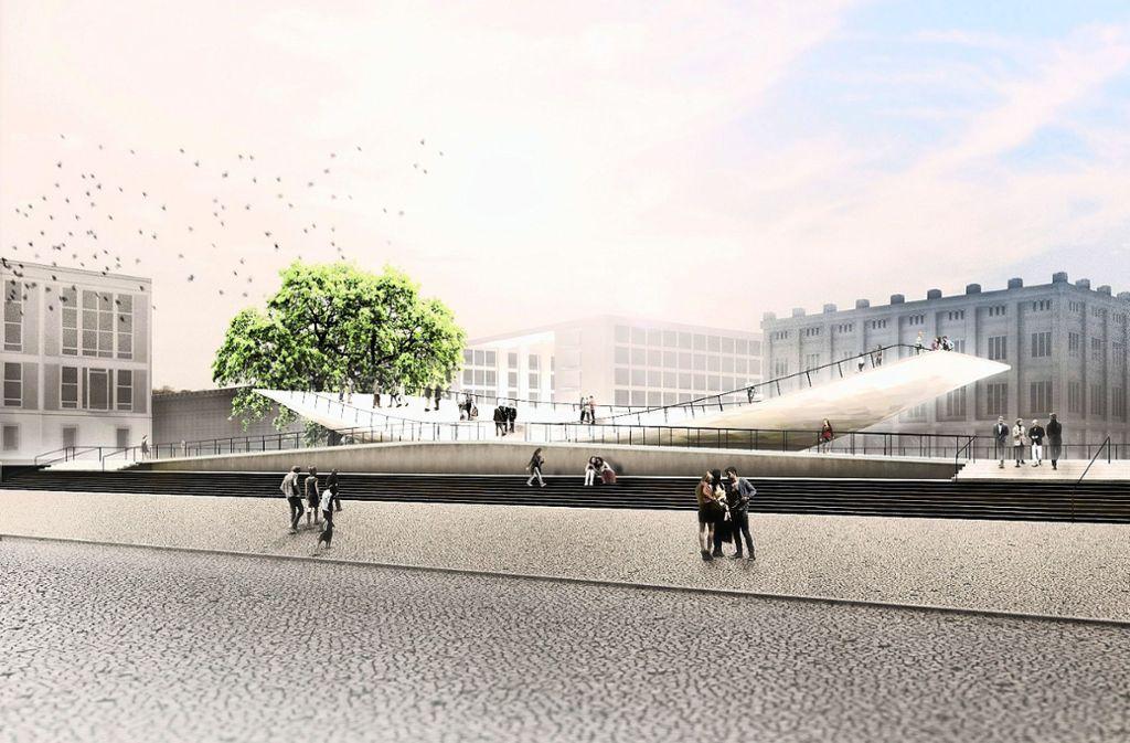 Entwurf zum Berliner Freiheits- und Einheitsdenkmal Foto: Agentur Milla & Partner