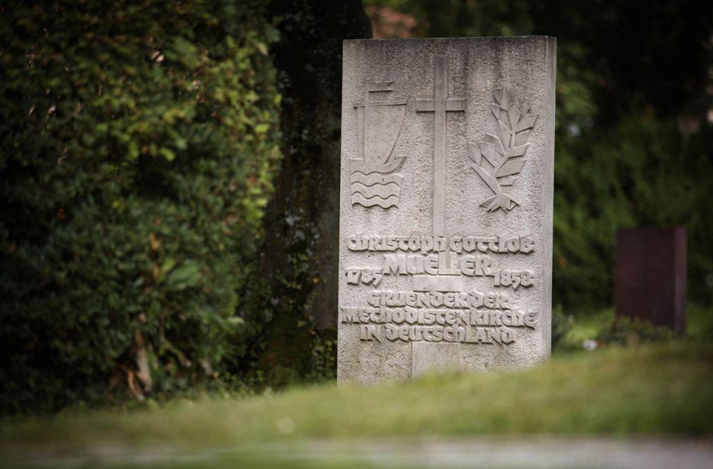 Der ursprüngliche Stein ist nicht erhalten, der jetzige stammt aus den 50er-Jahren. Foto: Gottfried Stoppel