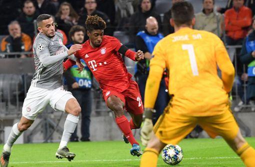 FC Bayern müht sich gegen Piräus  ins Achtelfinale