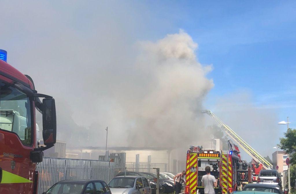In Neckarsulm hat es in zwei Firmen gebrannt. Foto: SDMG