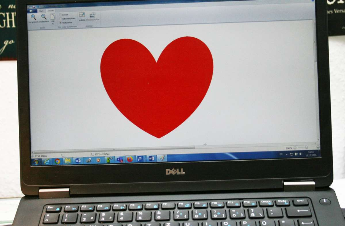 Die Frau hatte seit April Kontakt zu dem Liebesschwindler. Foto: StZ