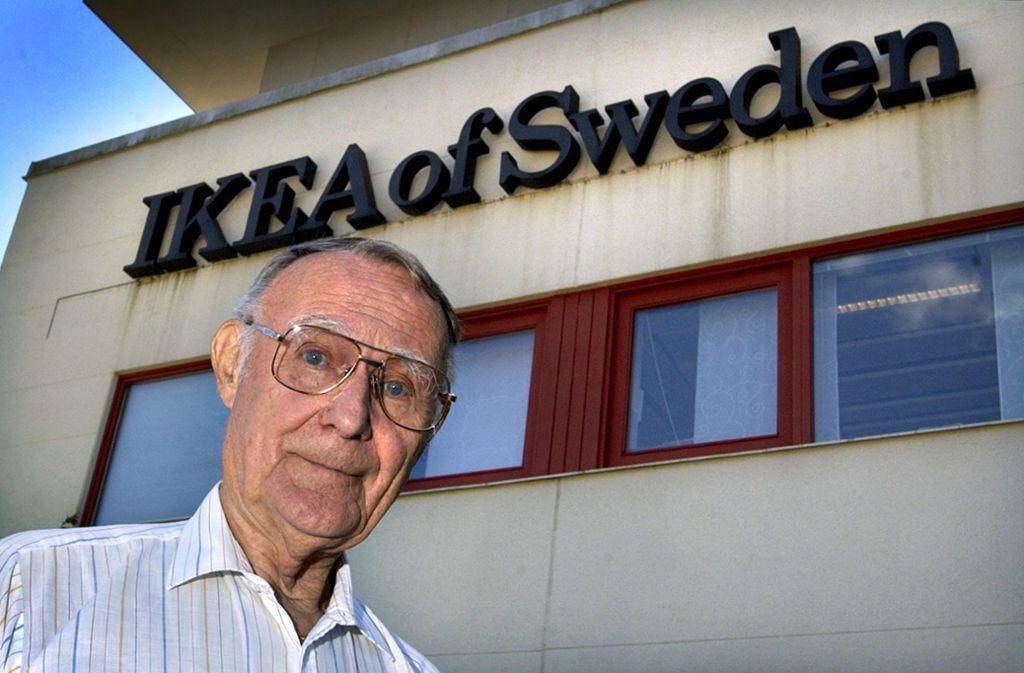 Der Gründer von Ikea ist tot (Archivbild). Foto: AFP