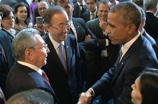 Obama und Castro nähern sich an