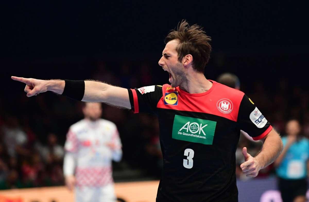 Nicht nur Kapitän Uwe Gensheimer erwartet einen außergewöhnliche Handball-WM (Archivbild). Foto: dpa/Robert Michael