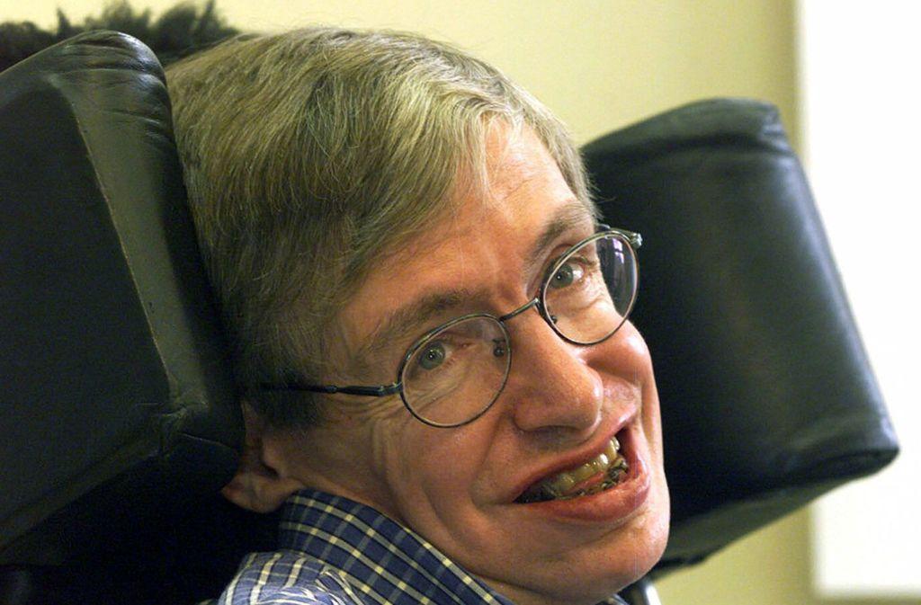 Stephen Hawking verstarb im Alter von 76 Jahren. Foto: AP