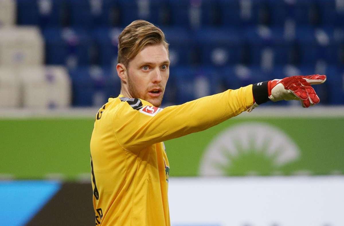 Er trägt künftig die Rückennummer eins beim VfB: Torhüter Florian Müller kommt vom FSV Mainz 05 an den Wasen. Foto: Pressefoto Baumann/Hansjürgen Britsch