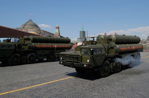 Raketenabwehr S-400 in der Türkei angekommen