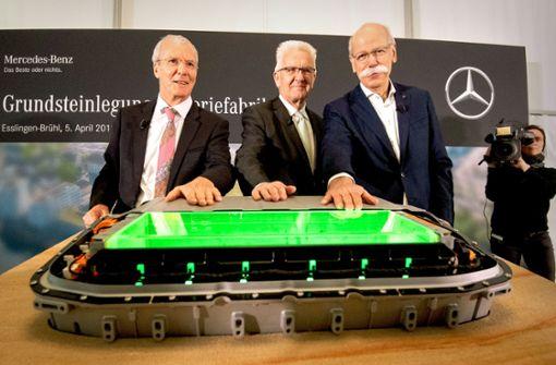 Batteriefabrik eröffnet Daimler Chance