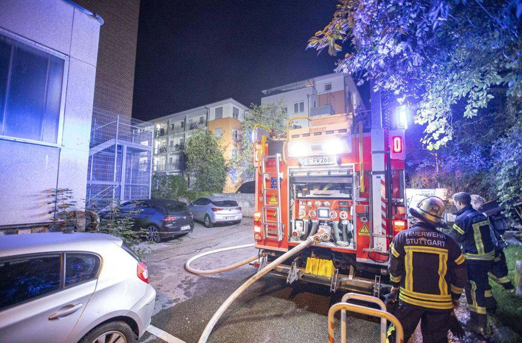 Der Brand ereignete sich in Stuttgart-Nord. Foto: 7aktuell.de