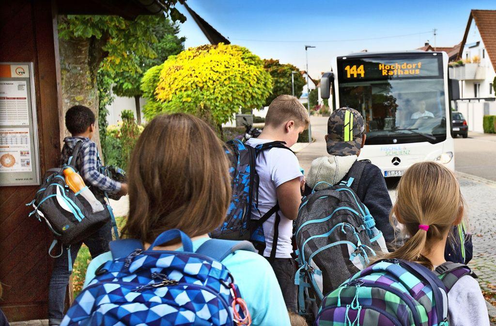 Mit dem Bus der Linie 144 beginnt die letzte Etappe des Heimwegs. Foto: /Horst Rudel
