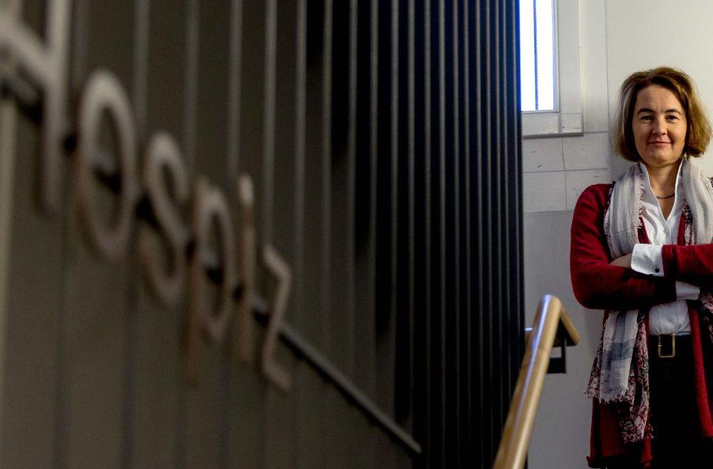 Neue Leiterin des Hospiz' St. Martin: Margit Gratz Foto: Lichtgut/Leif Piechowski