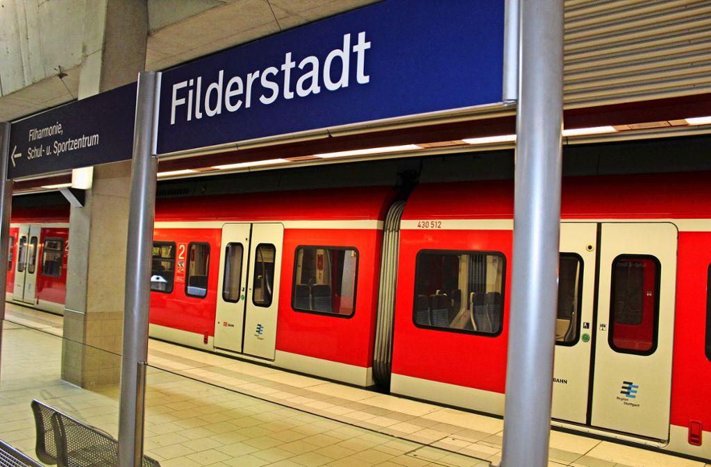 Mindestens ein Jahr lang soll 2022 kein Zug nach Filderstadt fahren. Foto: Jacqueline Fritsch