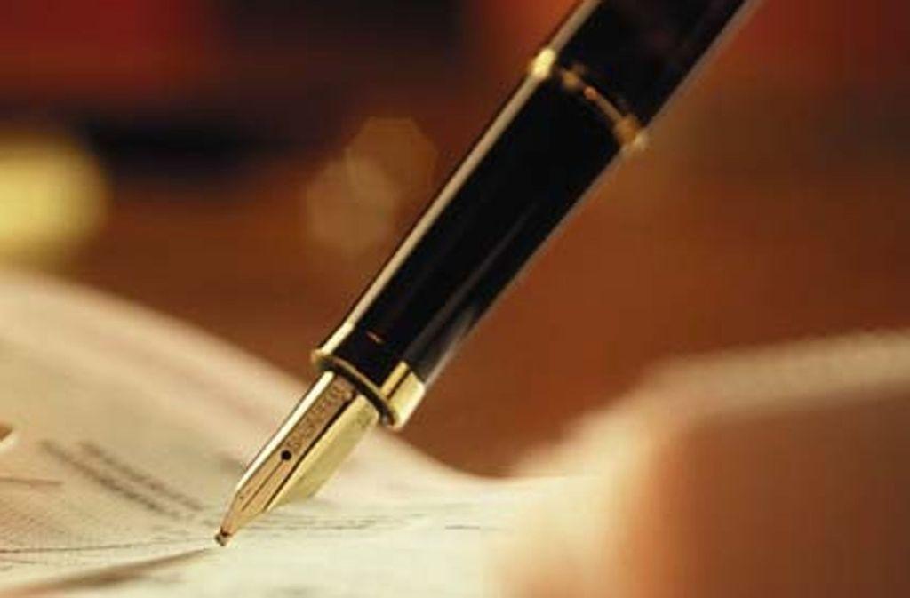 Bezirksbeiräte aller Fraktionen im Bezirksbeirat Stuttgart-Vaihingen  haben die gemeinsame Erklärung unterschrieben und sich damit von der AfD distanziert. Foto: Mauritius