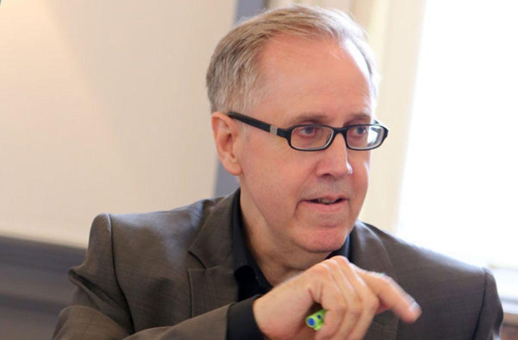 Der Stuttgarter Thomas Eigenthaler ist seit 2011 Chef der Deutschen Steuergewerkschaft (DSTG). Foto: picture alliance / R. Goldmann
