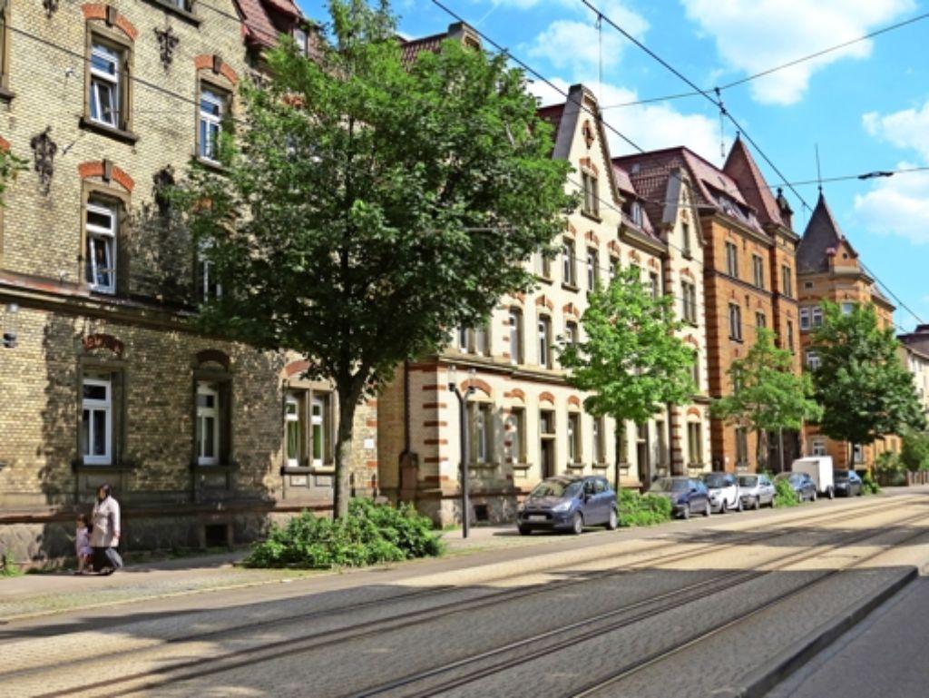 Im Nordbahnhofviertel liegen einige der ehemaligen LBBW-Wohnungen, deren Mieter sich Sorgen über Mieterhöhungen machen. Foto: Ina Schäfer