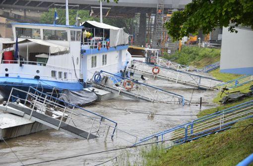 Der Neckar-Käpt'n kann nicht auslaufen