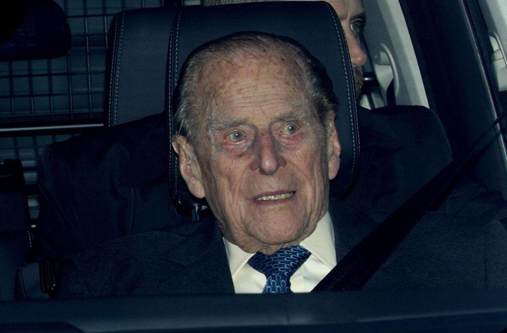 Prinz Philip wird künftig nicht mehr selbst hinter dem Steuer sitzen. Foto: PA Wire