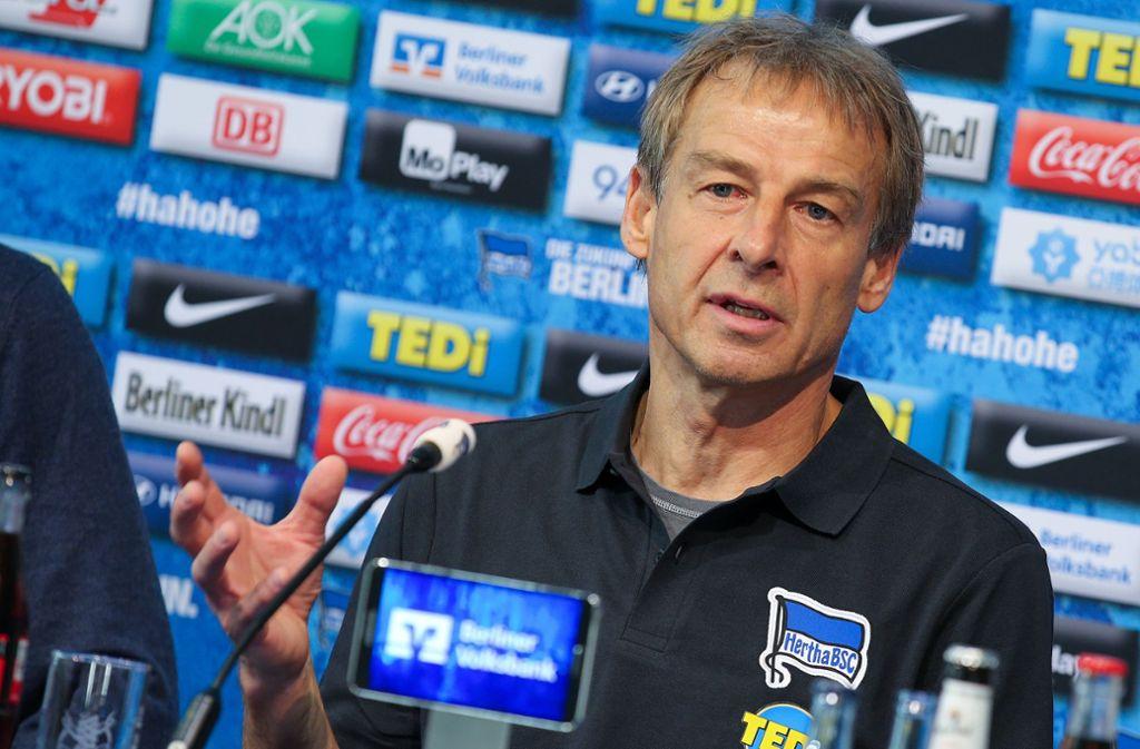 Jürgen Klinsmann hat den Youtuber Marvin Wildhage persönlich eingeladen. Foto: dpa/Andreas Gora