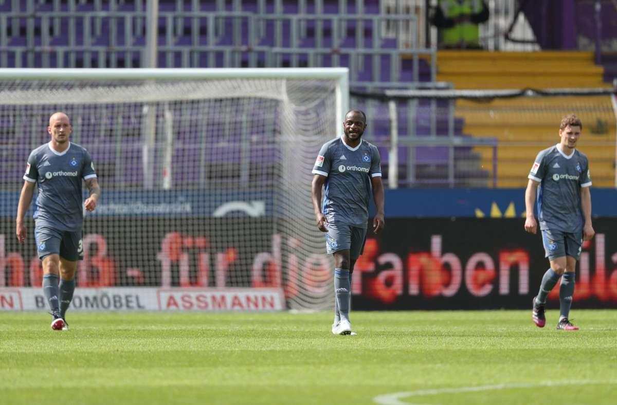 Der HSV spielt auch in der kommenden Runde in Liga zwei. Foto: dpa/Friso Gentsch