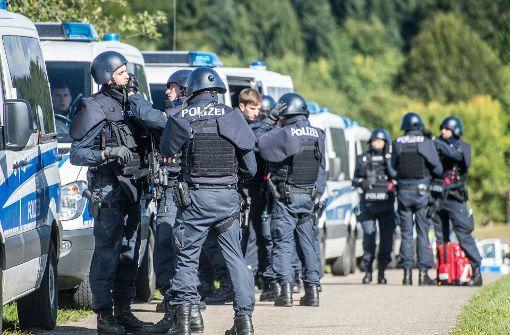 Polizei fahndet mit allen Mitteln