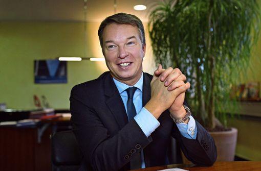 Bernd Sieber verlässt das Klinikum Esslingen