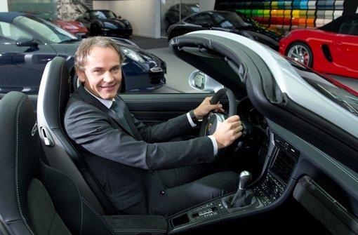 Oliver Blume, der Vorstandsvorsitzende des Sportwagenherstellers Porsche Foto: dpa