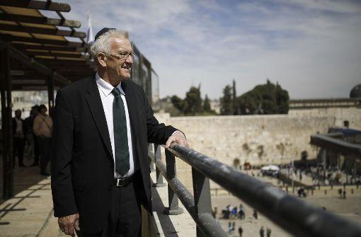 Kretschmann informiert sich in Israel über Startups