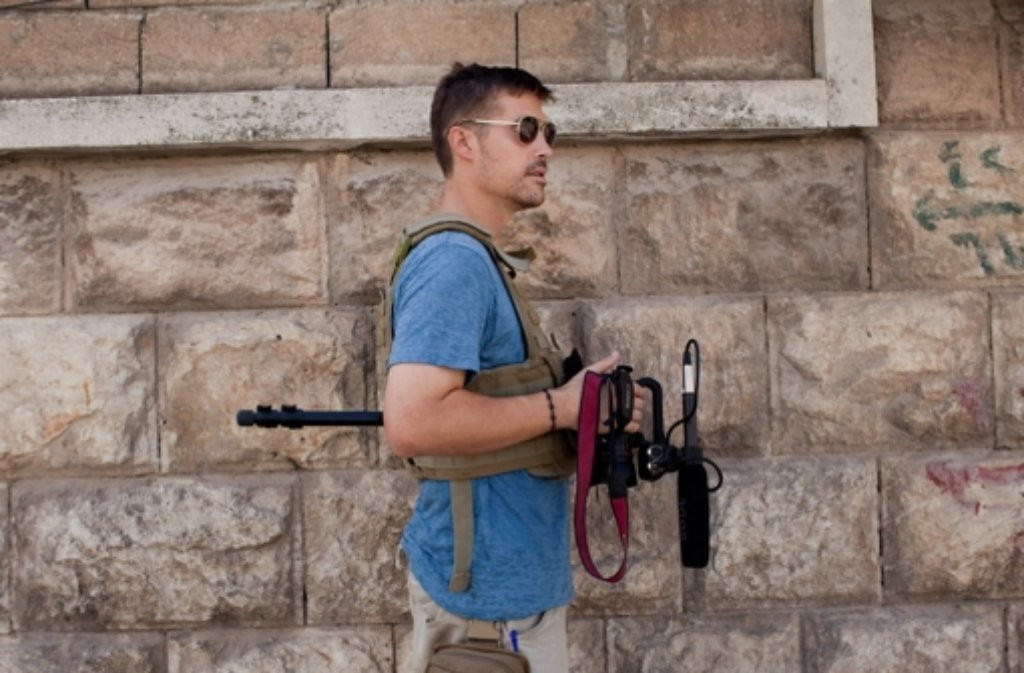 James Foley verschwand vor knapp zwei Jahren in Syrien. Foto: freejamesfoley.org