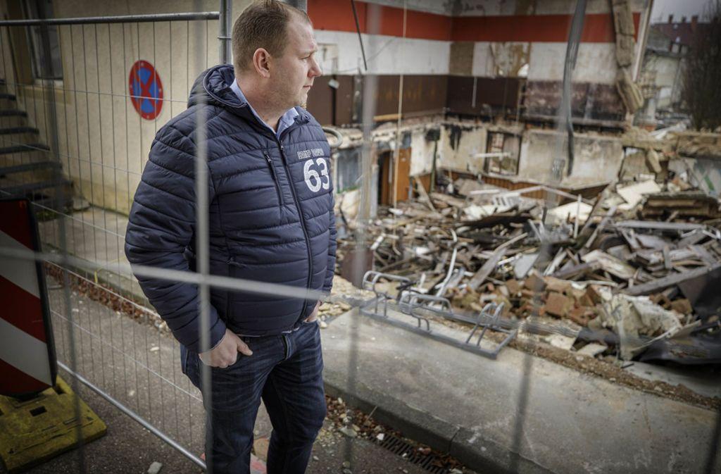 Christian Meyer hat geholfen, fünf Menschen aus einem brennenden Gebäude zu retten. Foto: Gottfried Stoppel
