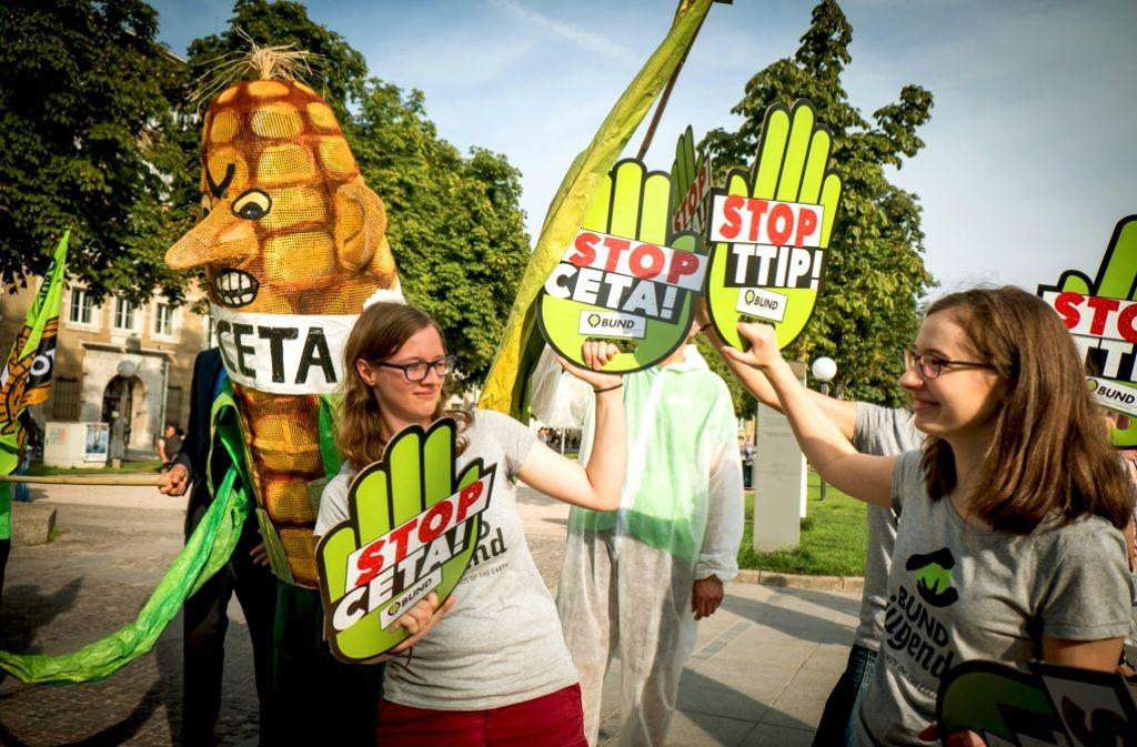 Die geplante Demo wird erhebliche Folgen für den Verkehr haben. Foto: Lg/Achim Zweygarth
