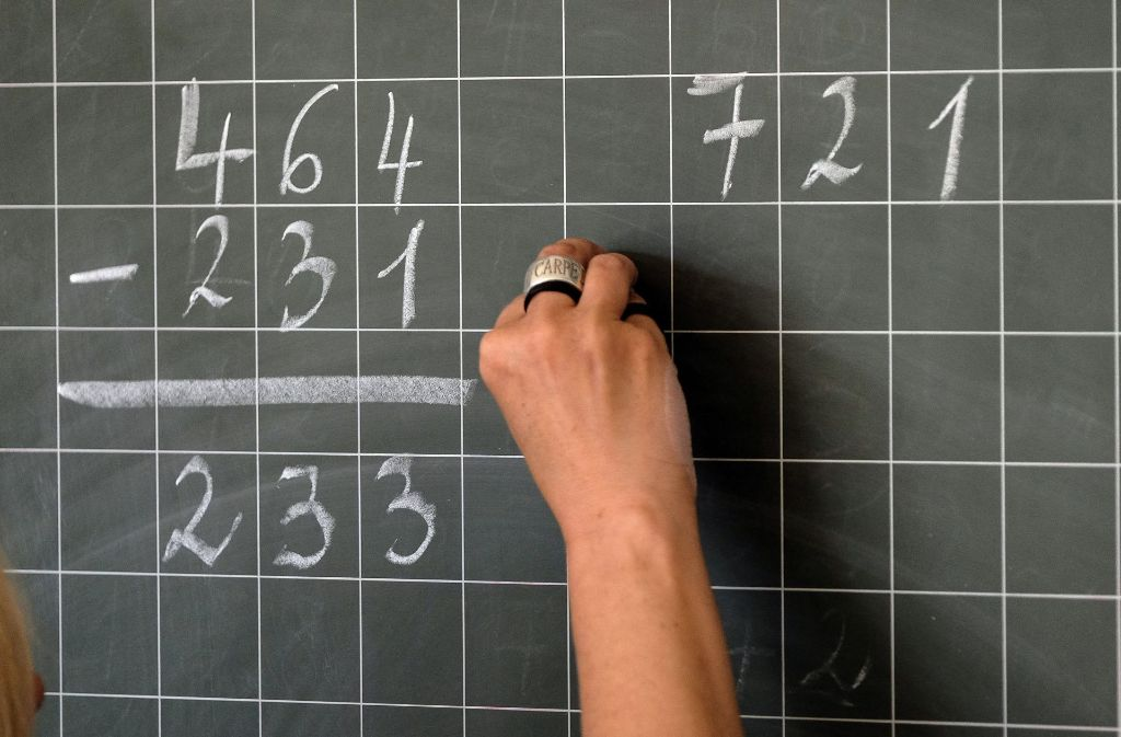 Die Leistungen in der Schule  hängen von vielen Faktoren ab. Foto: dpa