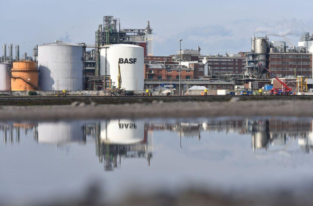 In einem BASF-Werk in Ludwigshafen war eine Anlage zur Produktion von chemischen Grundstoffen ausgefallen. Foto: dpa