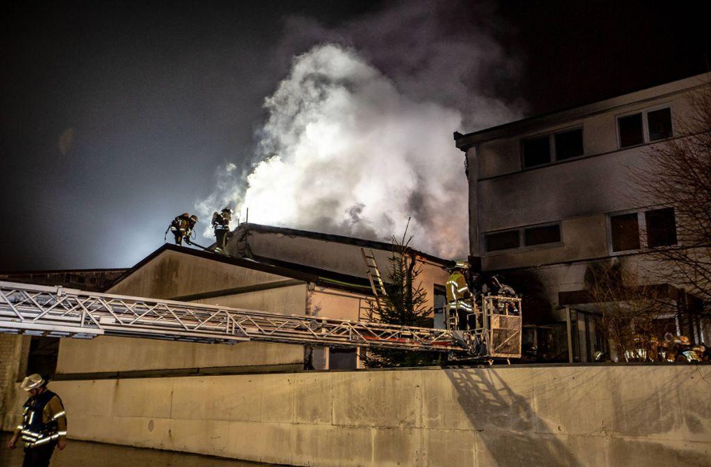 Gleich zu Beginn des ablaufenden Jahres hatte die Feuerwehr in Bietigheim ordentlich zu tun. Foto: 7aktuell.de/Marc Gruber
