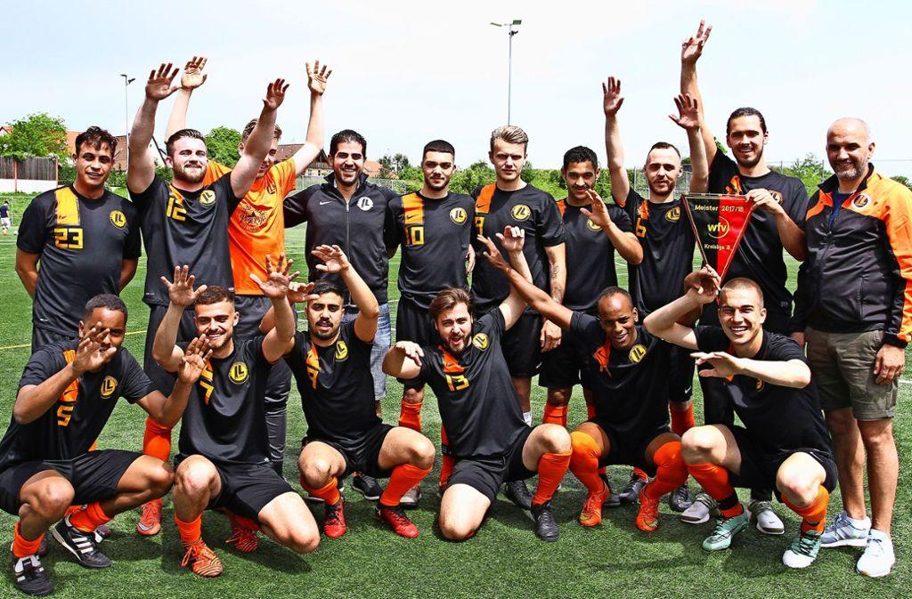Der Gewinn des Meistertitels stand für die Vaihinger bereits fünf Spieltage vor dem Rundenende fest. Foto: Yavuz Dural