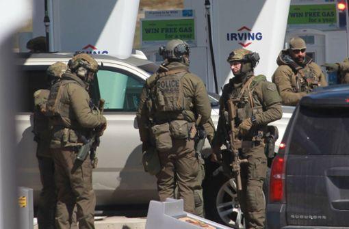 Blutbad mit mindestens 17 Toten in Nova Scotia