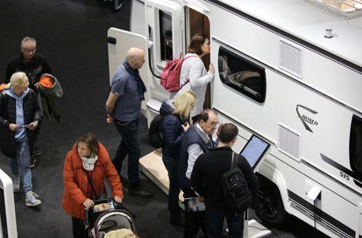 So viele  Reisemobile wie nie zuvor verkauft