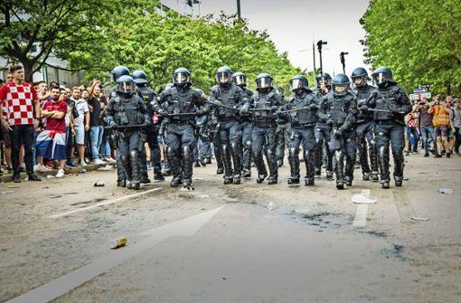 Polizei wertet Videoaufnahmen der WM-Finalfeier aus