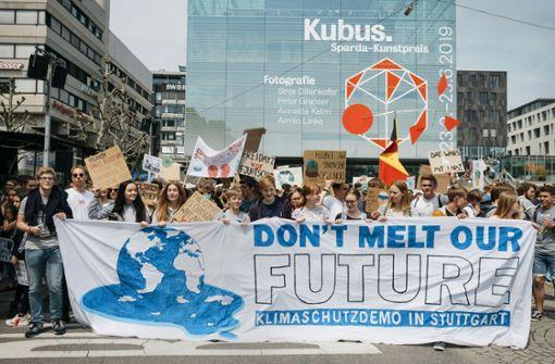 Wie der Klimaprotest in Stuttgart begann