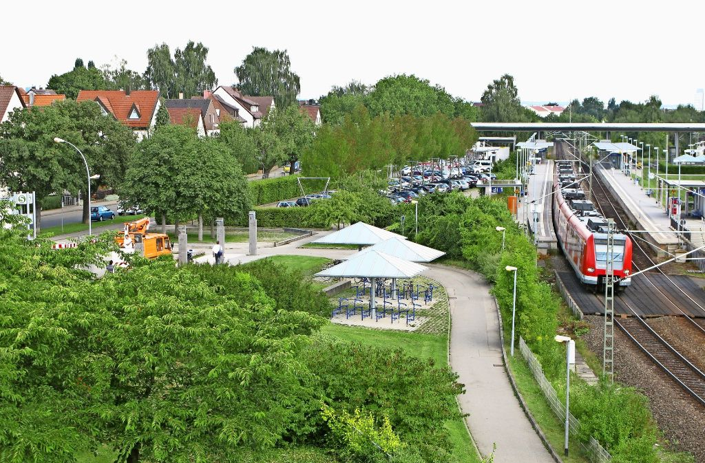 Das Gelände zwischen Schienen und Bahnhofstraße ist teilweise von Schadstoffen kontaminiert. Foto: Archiv Tim Höhn
