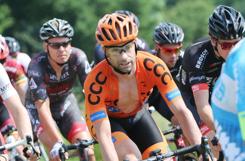 Als Radprofi war Stefan Schumacher am Ende seiner Karriere nicht mehr in der Topliga unterwegs – als Triathlet nimmt er 2019 an der Ironman-WM teil. Foto: Baumann