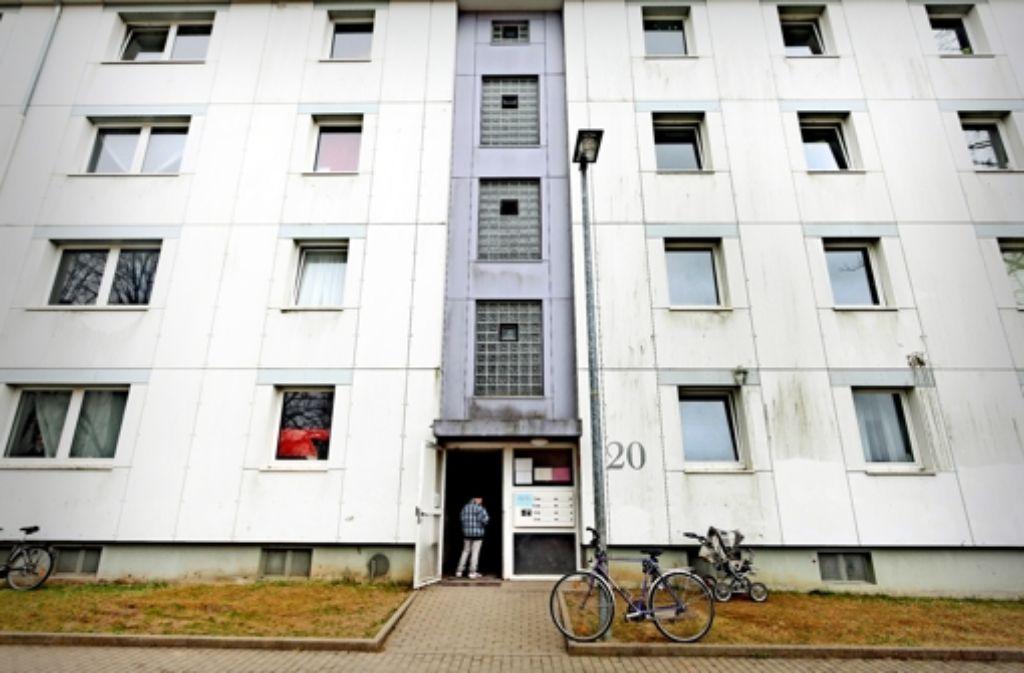 Die alten Wohnblocks am Sonnenberg in Ludwigsburg sollen abgerissen und ersetzt werden. Um das Vorhaben wurde lange gerungen. Foto: factum/Granville