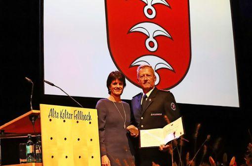 Rainer Seeger mit der Ehrenmedaille der Stadt ausgezeichnet