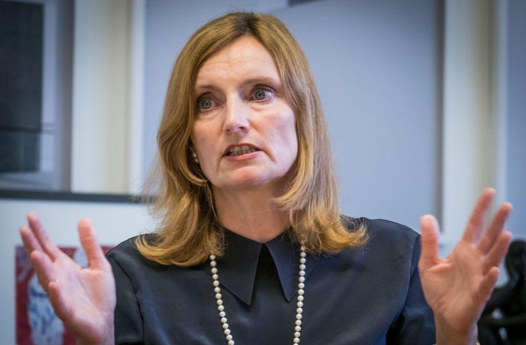 Schulbürgermeisterin Isabel Fezer legt Wert auf  eine breite Basis. Foto: Lichtgut/Achim Zweygarth